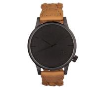 Winston Woven Chestnut Uhr KOM-W2031