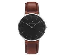 Classic Black St Mawes Uhr DW00100130 ( mm)