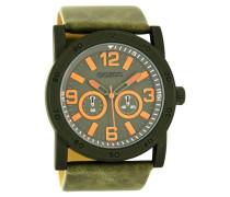 Timepieces Grün/Orange Uhr C8307 ( mm)