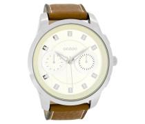 Timepieces Kognak/Creme Uhr C8206 ( mm)