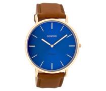 Vintage Kognak/Blau Uhr C8138 ( mm)