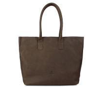 Core Large Grain Leather Dark Brown Handtasche 2130100023096-L