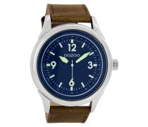 Timepieces Braun/Blau/Lumi Green Uhr C7475