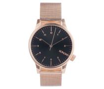 Winston Royale Rose Gold/Black Uhr KOM-W2354