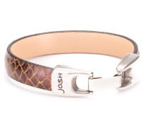 Brown Armband 18399-BRA-Brown-S (18.00 cm)