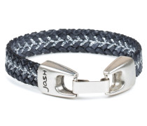 Silver Black Armband 18426-BRA-BLACK-S (Länge: 18 cm)