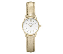La Vedette Metallic Gold/White Uhr CL50019