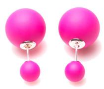Double Dots Matte Lollipop Ohrringe 11126