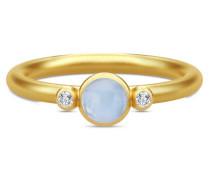 Prime Blue Chalcedony Ring RI173GDCALCRCZ52
