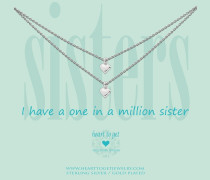Sisters I Have A One In A Million Sister Kette 2N16HEA11S-1