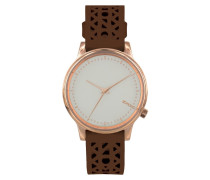Estelle Cut Out Cognac Uhr KOM-W2653