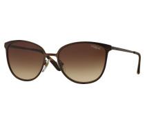 Matte Brown Burnt Sonnenbrille VO4002S934S13