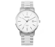 Herren Slimline Classic White Uhr P.1470