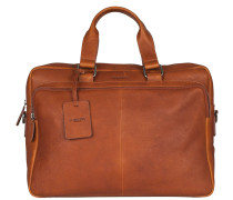 Antique Avery Cognac Laptop-Tasche 521856.24