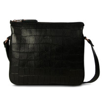 Trend Small Printed Leather Black Umhängetasche 2620100030004-S
