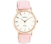 Vintage Rosa/Weiß Uhr C8103 ( mm)