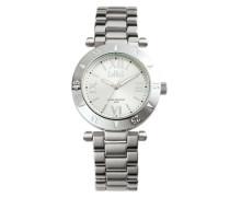 Daisy Silber/Silber Uhr (Medium) D-1