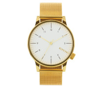 Winston Royale Gold/White Uhr KOM-W2358