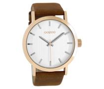 Timepieces Kognak/Silber Uhr C8271 ( mm)