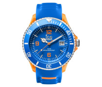 Ice-Sporty Blue/Orange Big Uhr SR.3H.BOE.BB.S.15