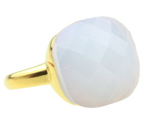 Square Gem Opalite Gold Ring 4109-R-3661-16