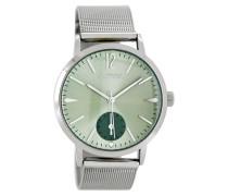 Timepieces Siber/Grün Uhr C8611