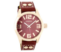 Timepieces Rot Uhr C8019 (41 mm)