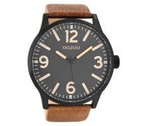 Timepieces Braun/Schwarz Uhr C8573