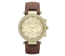 Leather Strap Uhr MK2249