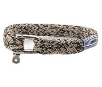 Sharp Simon Navy/Sand Armband P07-63204 (Länge: 17.50-18.00 cm)