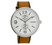 Timepieces Uhr Cognac/Weiss C7075