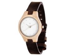 Adelheid Maple/Leather Black Uhr