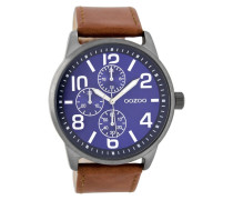 Timepieces Braun/Blau/Titan Uhr C8301 ( mm)
