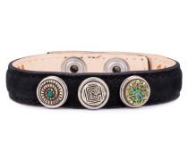 Black Wrap Bracelet Petite Classic Skinny-Mandala XWPCS-9050-16-M