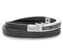 Charity Collection Universe Leather Black Armband 822BL-19