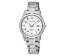 Damen Stahl Armband Saphir Uhr SXDG89P1