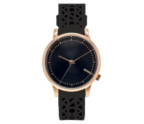 Estelle Cutout Black Rose Gold Uhr KOM-W2651