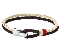 Urban Man Brown and White Armband LS1813-2-4