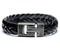 Vintage Black Armband 24001-BRA-VB-BLACK-L-1 (Länge: 21.00 cm)