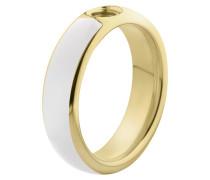 Vivid Resine Ring White/Gold