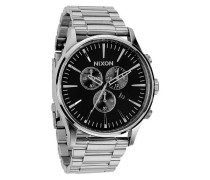 Sentry Chrono Black/Silver Uhr A386000