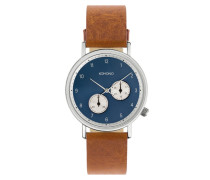 Crafted Walther Cognac Uhr KOM-W01