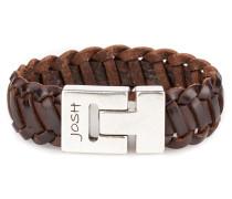 Herren Armband Brown 24554-BRA-BROWN-M (20.30 cm)