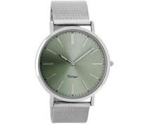 Vintage Silber/Grau Uhr C8156