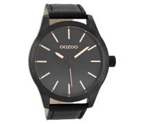 Timepieces Schwarz/Schwarz/Rose Uhr C8558