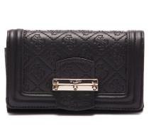 Lorien Black Druckknopf Brieftasche SWSG6787450-BLA