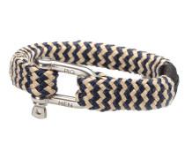 Bombay Barry Navy/Gold Armband P09-63203 (Länge: 22.00 cm)