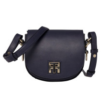 Twist Leather Mini Crossover Tommy Navy Handtasche AW0AW03698413