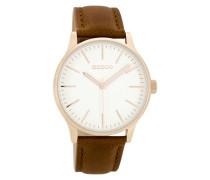 Timepieces Braun/Weiß Uhr C8543