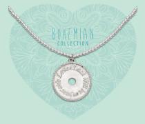 Bohemian Beads Coin Kette BO284COI17S (Länge: 40-44 cm)